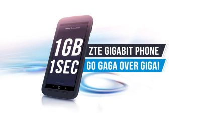ZTE Gigabit Phone is not the first Gigabit Speed Smartphone